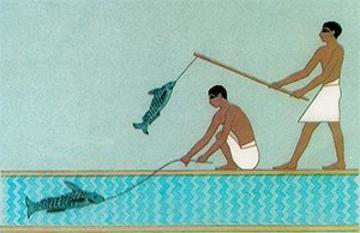Древние рыбаки: