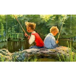 Как я от леща драпал - рыболовные казусы моего детства