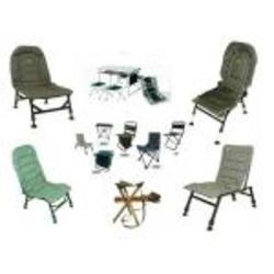 Кресла карповые раскладные, рыболовные стулья и столы