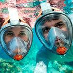 Маска для подводного плавания - снорклинга