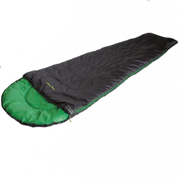 Спальный мешок High Peak Easy Travel / +5°C (Right) Black/green