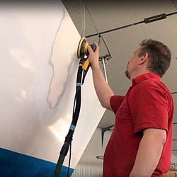Ремонт пробоины, трещины, расслоения корпусов катера лодки яхты