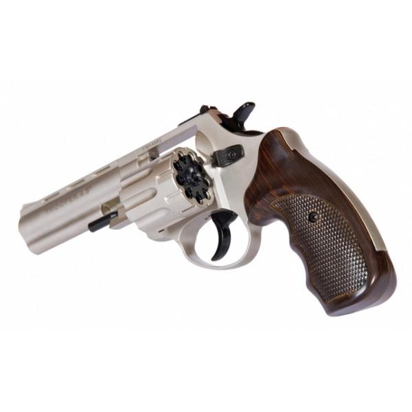 """TROOPER 4.5"""" никель сталь револьвер под патрон Флобера"""