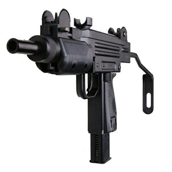 Автомат УЗИ UZI пистолет пулемет пневматический KWC KMB07HN