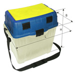 Ящик для зимней рыбалки пластиковый большой
