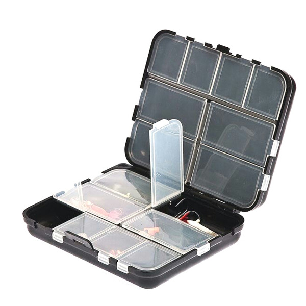 Коробка рыболовная AQUATECH 2416 двойная с ячейками пластик