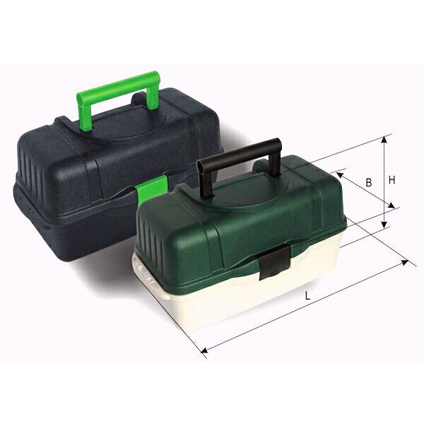 Ящик пластиковый 2703 AQUATECH 3 полки
