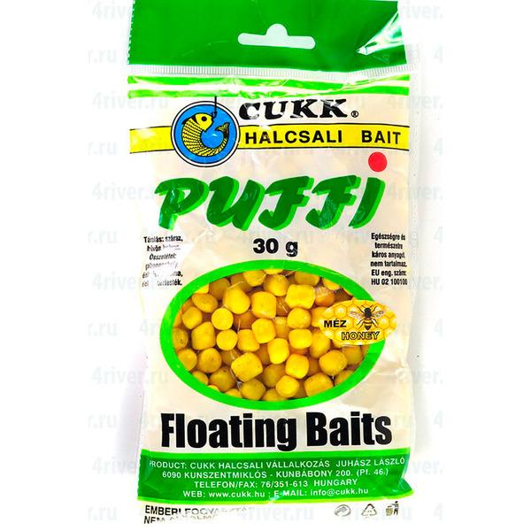 "Воздушное пенотесто плавающая насадка ""Puffi Cukk"" 30 g Мёд"