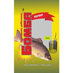 Прикормка рыболовная Бомба Карп Анис 1 кг.