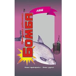 Прикормка рыболовная Бомба Лещ 1 кг.