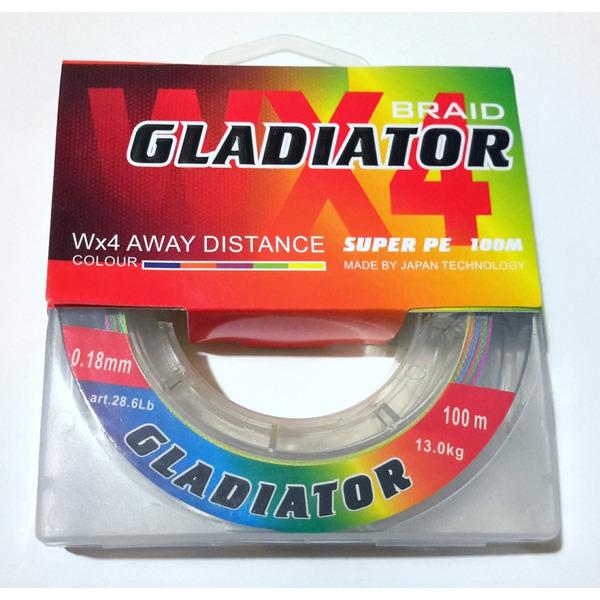 Шнур Gladiator X4 Super PE 100 m.