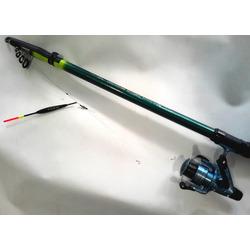 Удочка поплавочная оснащенная набор Рыболов-4