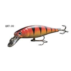 Воблер ALHAR, 120 мм, 13,0 г, цвет 202, для ловли щуки, судака, окуня