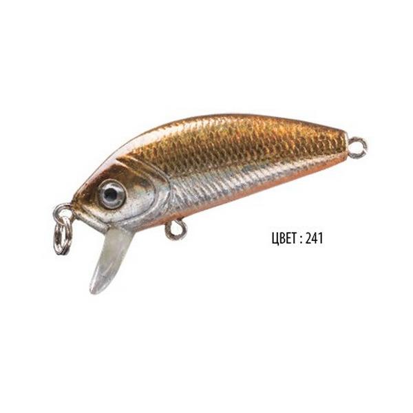 Воблер BABY, 48 мм, 3,6 г, цвет 241, для ловли щуки, судака, окуня