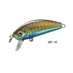Воблер BABY, 48 мм, 3,6 г, цвет 245, для ловли щуки, судака, окуня