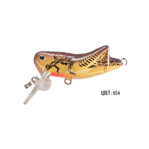 Воблер CRICKET, 50 мм, 3,5 г, цвет 054, для ловли щуки, судака, окуня