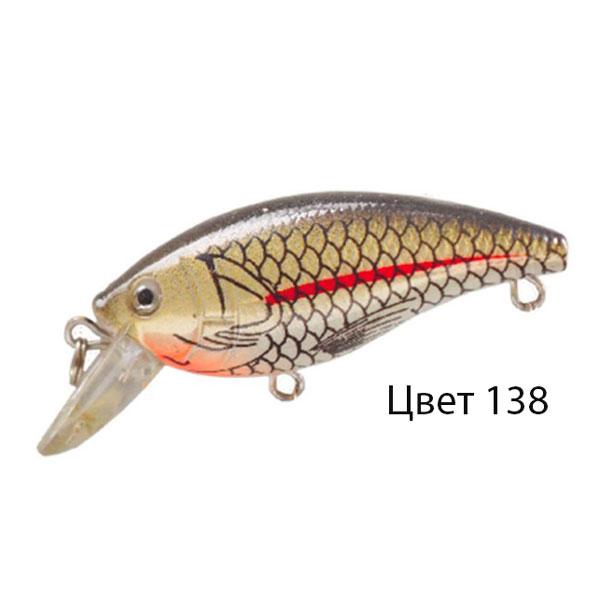Воблер FLICK, 55 мм, 5,2 г, цвет 138, для ловли щуки, судака, окуня