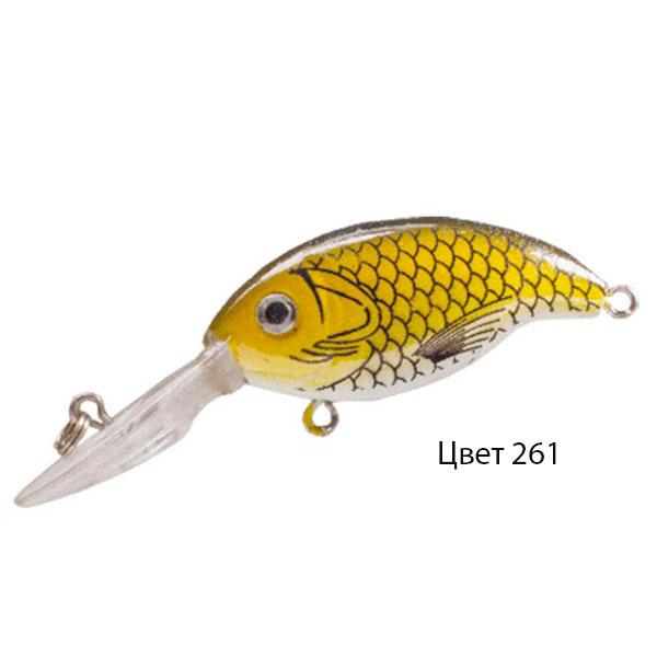 Воблер GLOG, 64 мм, 4,0 г, цвет 261, для ловли щуки, судака, окуня