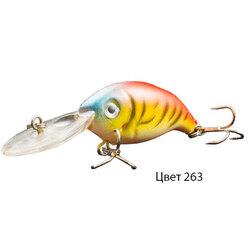 Воблер GLOG, 64 мм, 4,0 г, цвет 263, для ловли щуки, судака, окуня