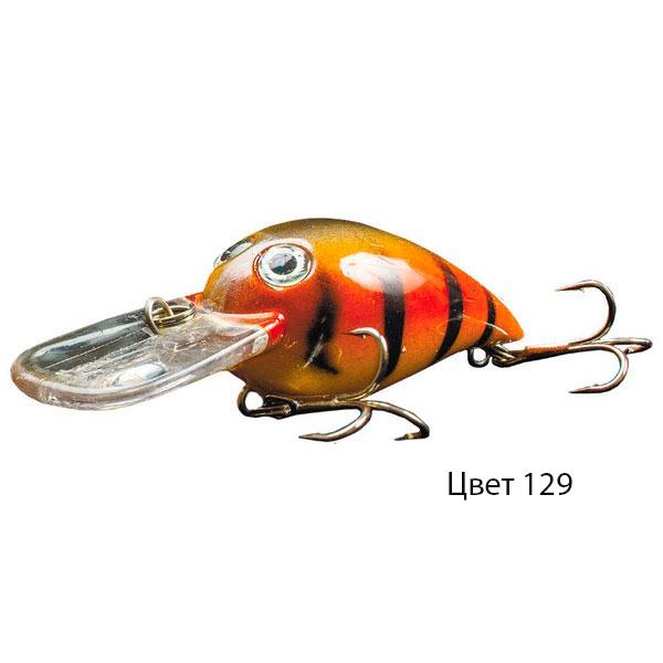 Воблер HERALD, 80 мм, 9,5 г, цвет 129, для ловли щуки, судака, окуня