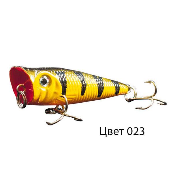 Воблер KAHAR, 50 мм, 4,2 г, цвет 023, для ловли щуки, судака, окуня
