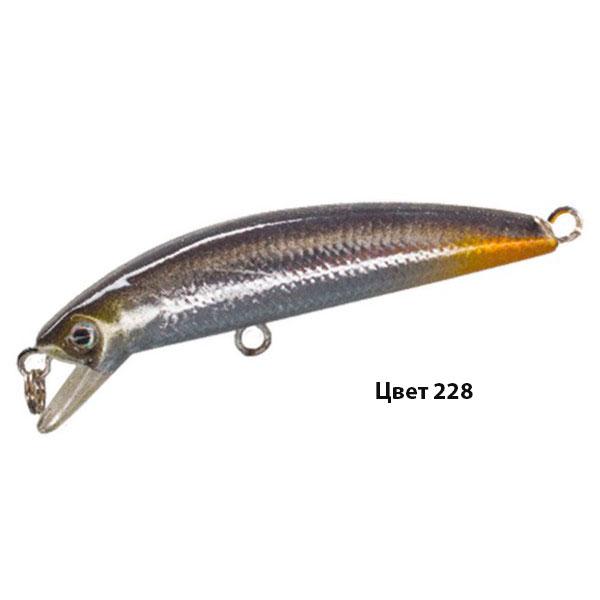 Воблер KANSWAR, 60 мм, 3,8 г, цвет 228, для ловли щуки, судака, окуня