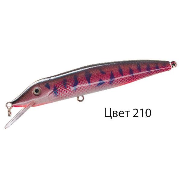 Воблер PIKKIE L, 125 мм, 12,0 г, цвет 210, для ловли щуки, судака, окуня