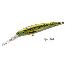 Воблер QUEST, 130 мм, 12,5 г, цвет 205, для ловли щуки, судака, окуня