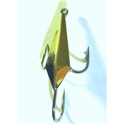 Блесна зимняя паяная «крабик ромб» жук малая
