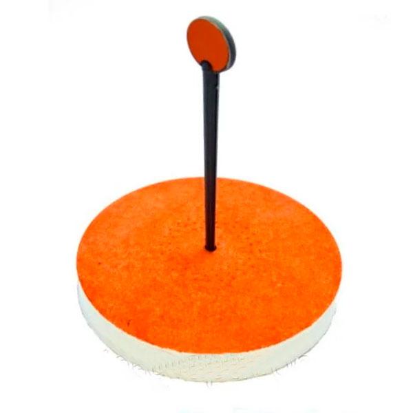 Кружок пенопластовый на щуку карпа сазана
